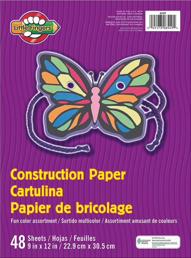 Little Fingers® Construction Paper