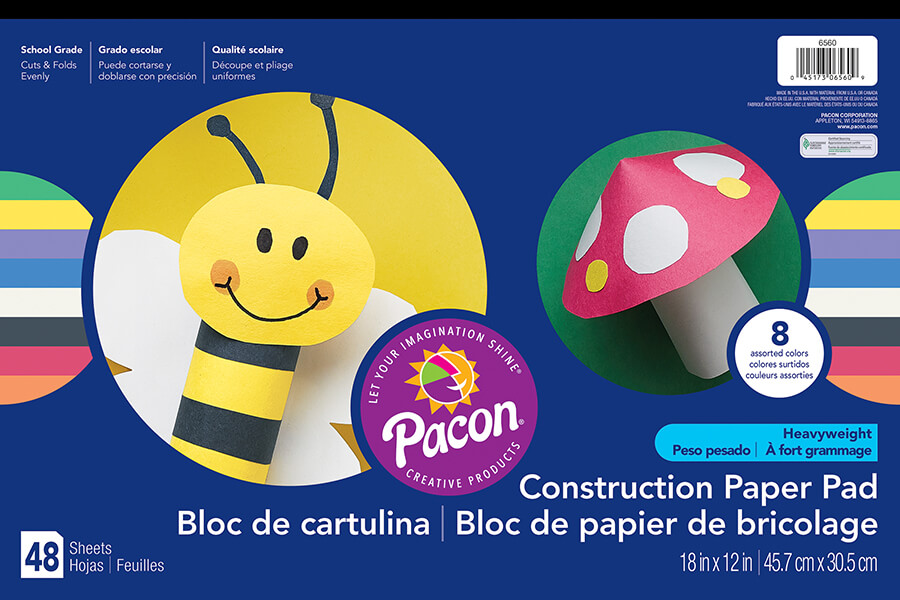 Pacon® Heavyweight Construction Paper Pad