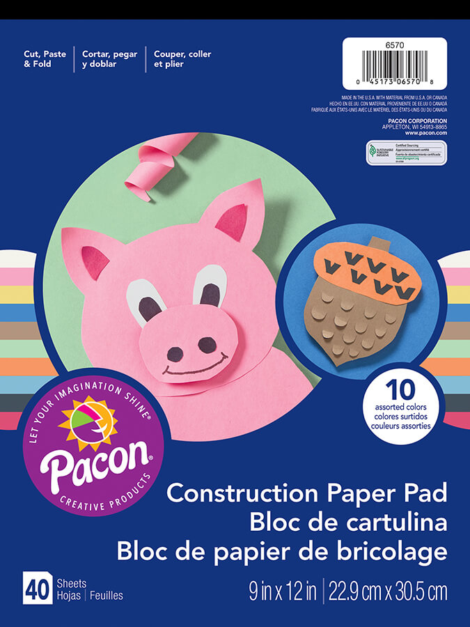 Pacon® Construction Paper Pad