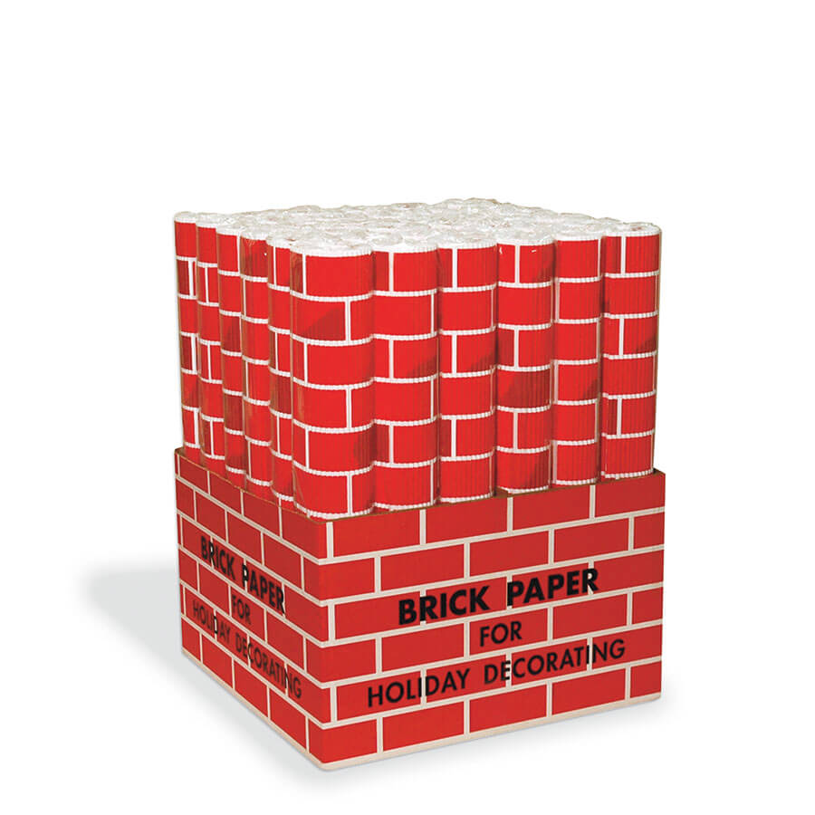 Corobuff® Tu-Tone™ Brick Display