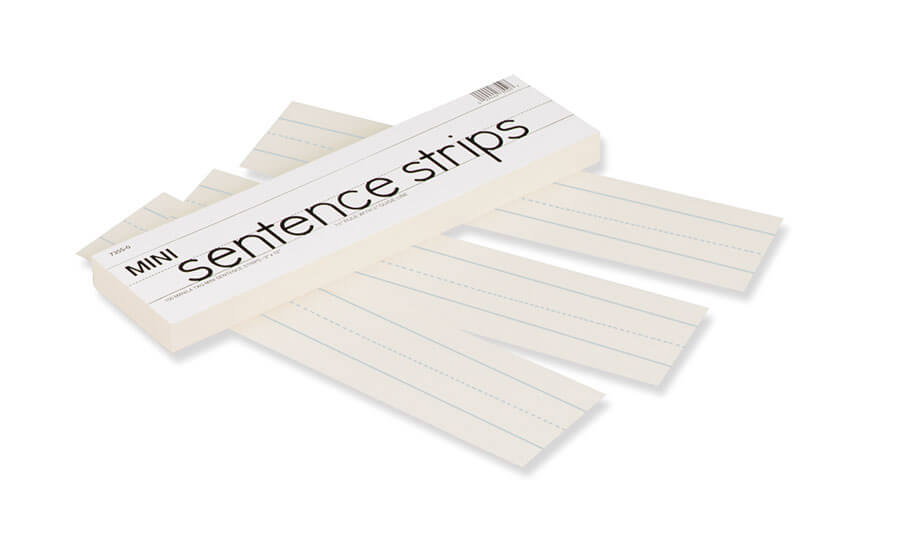 Pacon® Mini Sentence Strips