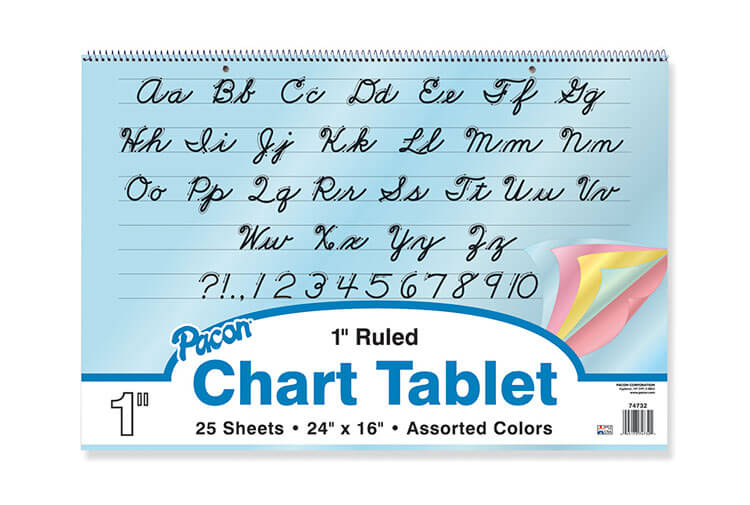 Pacon® Colored Paper Chart Tablets