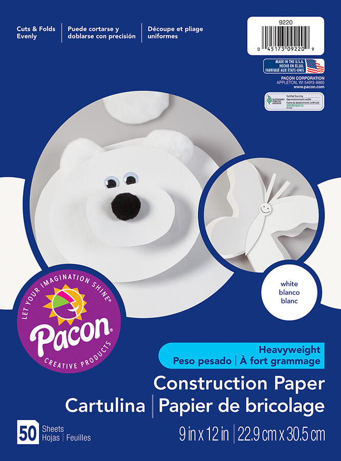 Pacon® Heavyweight Construction Paper