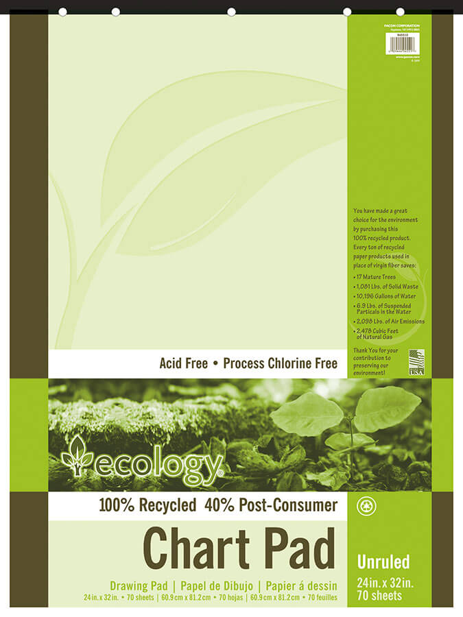 Ecology® Recycled Chart Pads
