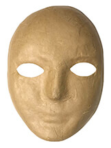 Creativity Street® Papier Maché Mask
