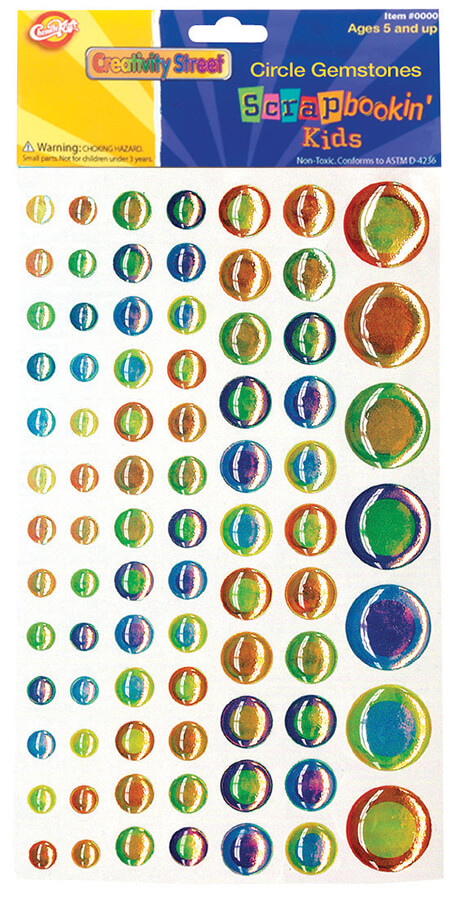 Creativity Street® Peel & Stick Gemstone Stickers