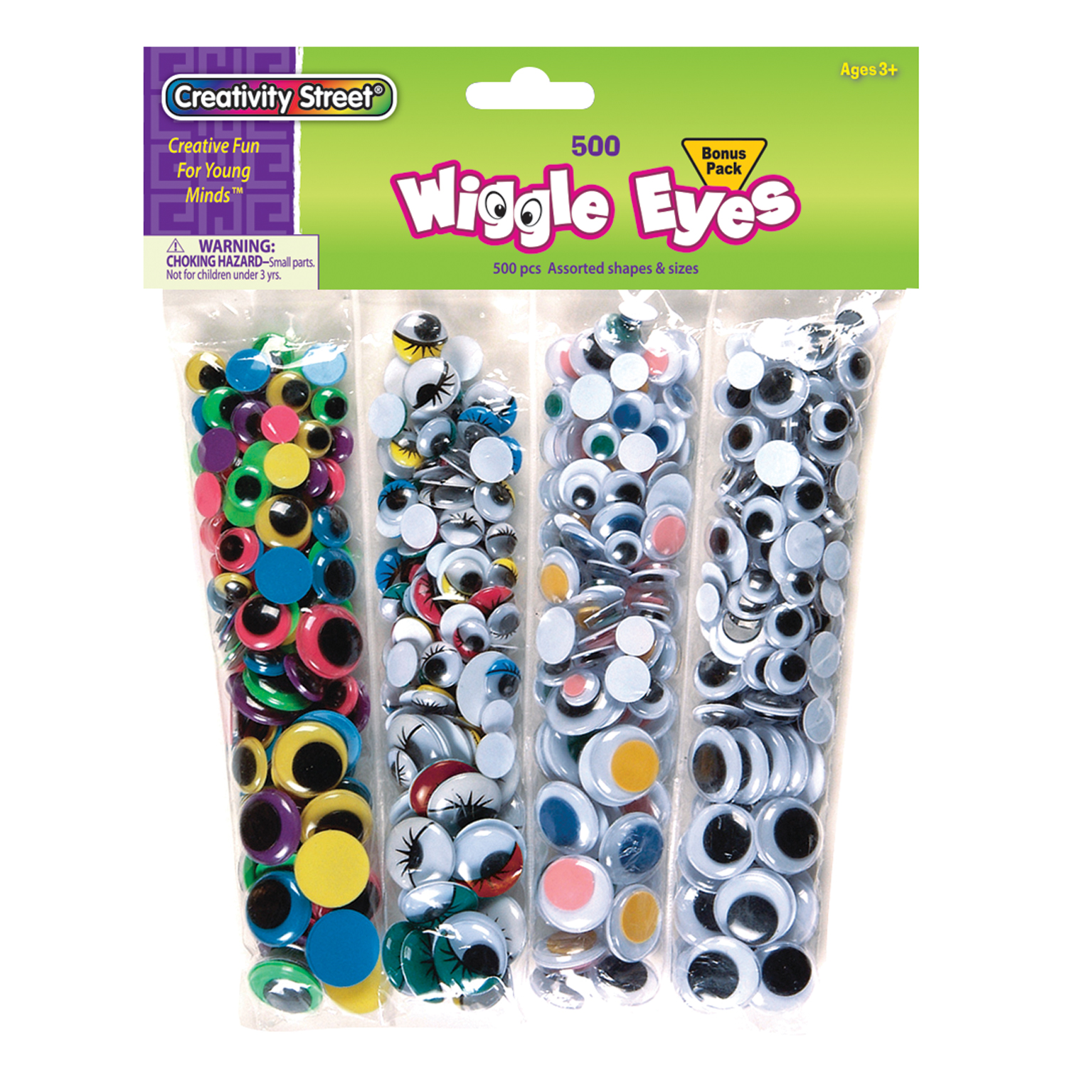 Creativity Street® Wiggle Eyes Assortment