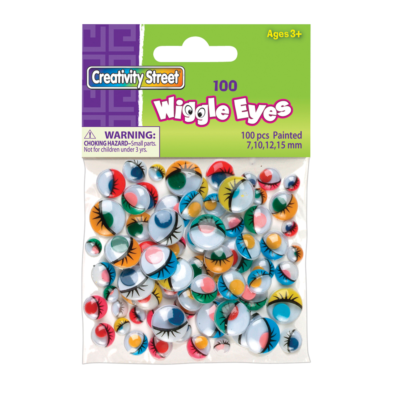 Creativity Street® Peel and Stick Wiggle Eyes