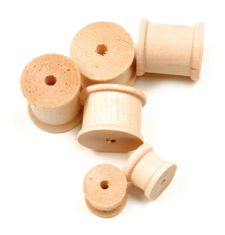 Creativity Street® Natural Wood Spools