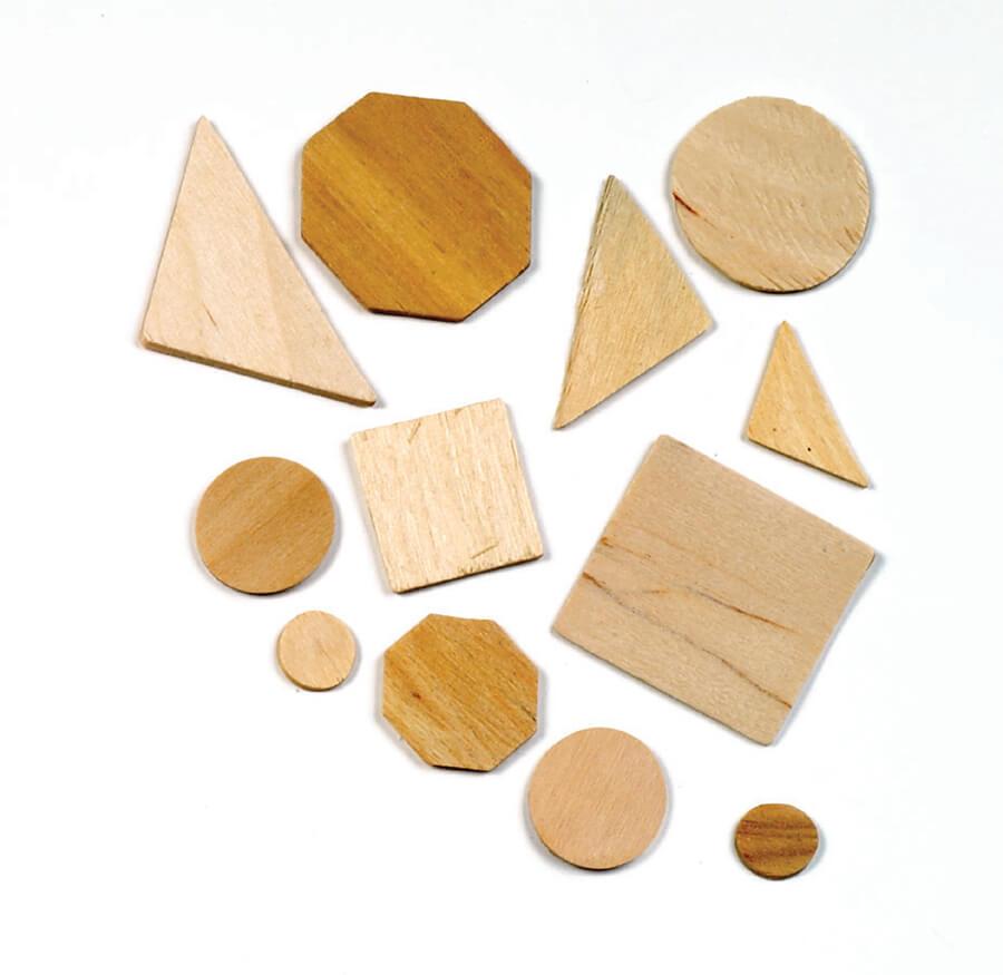 Pacon Wood Craft Shape Assortment