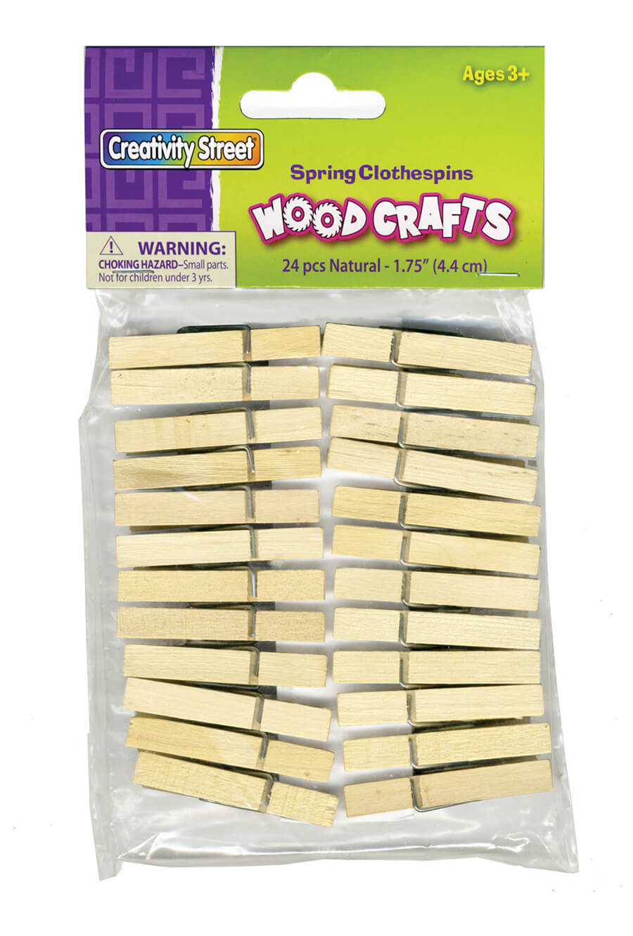 Creativity Street® Natural Spring Clothespins