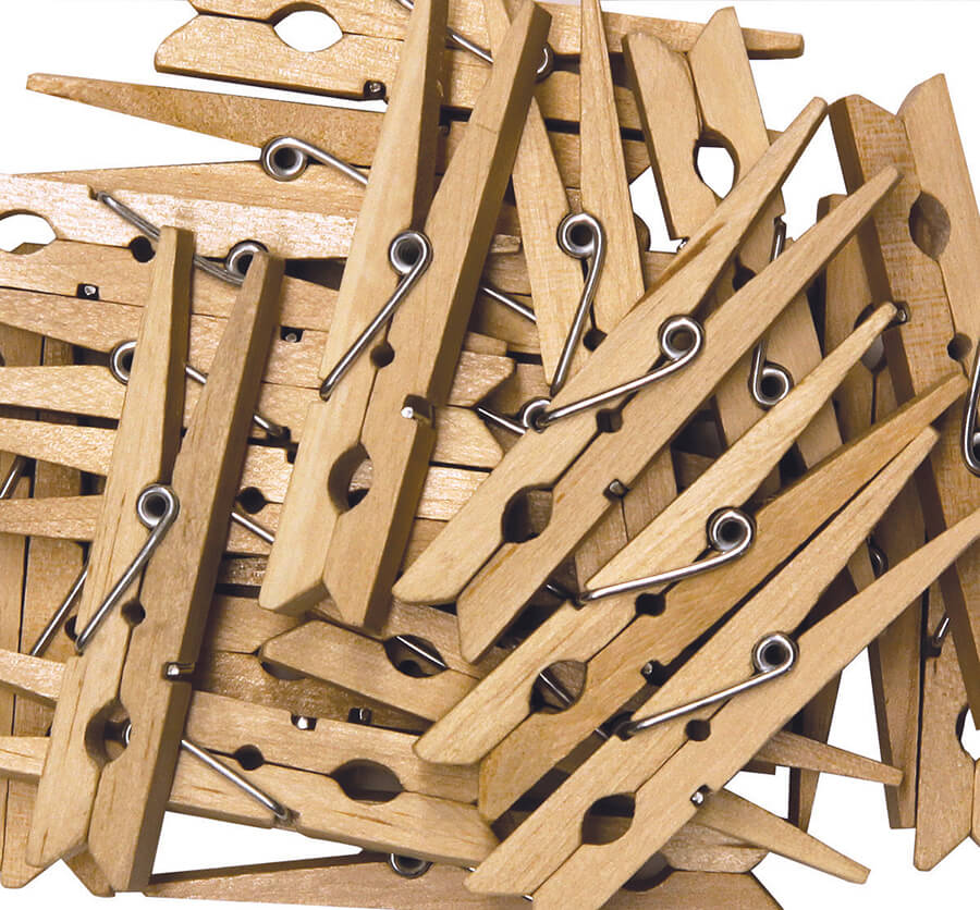 Creativity Street® Natural Large Spring Clothespins
