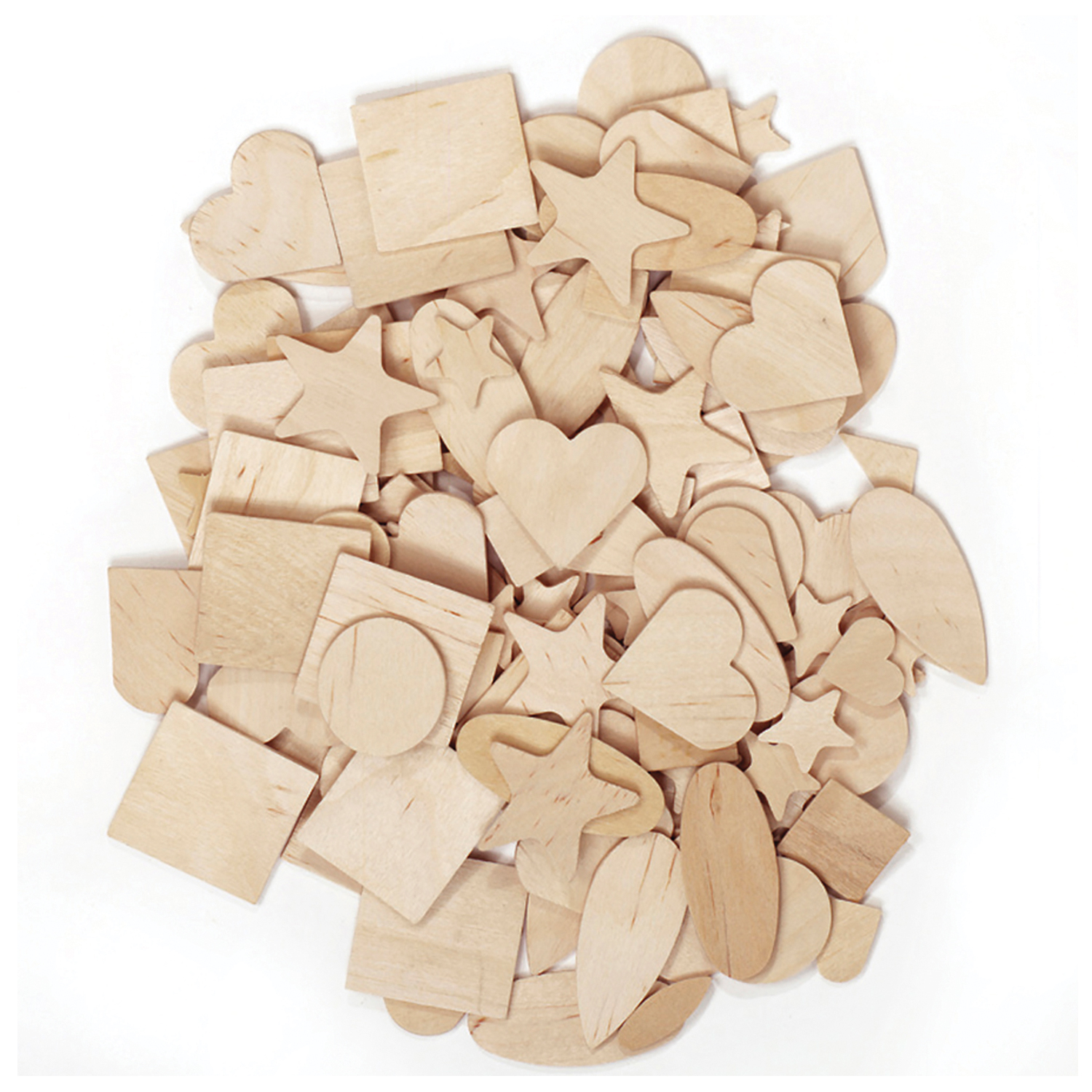 Creativity Street® Natural Wood Shapes Assortment