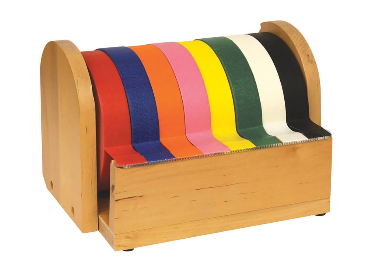 Creativity Street® Wood Masking Tape Holder