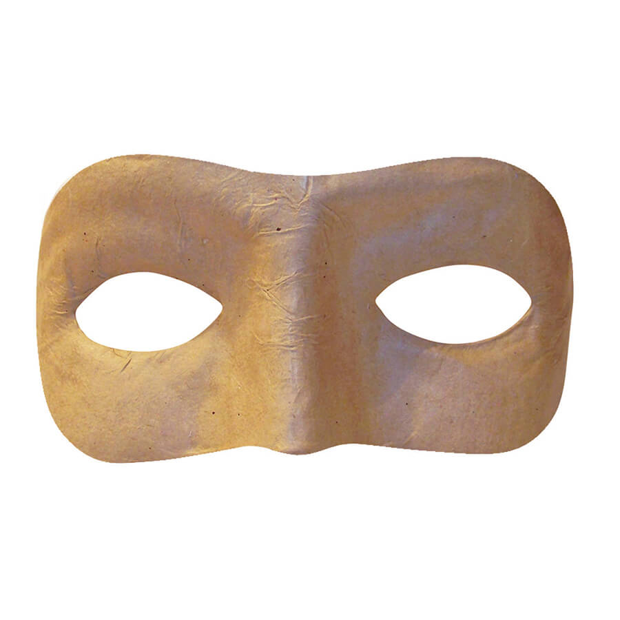 Creativity Street® Papier Maché Half Mask