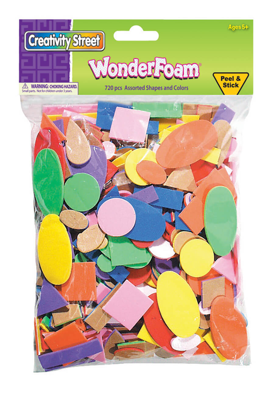Creativity Street® WonderFoam® Peel and Stick Assortment