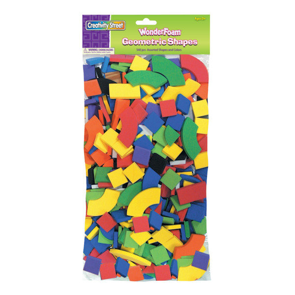 Creativity Street® WonderFoam® Shapes