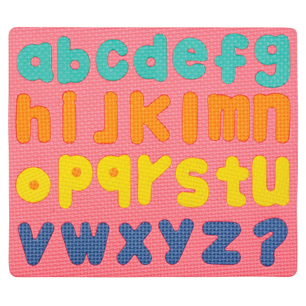 WonderFoam® Magnetic Lower Case Letter Puzzle Set