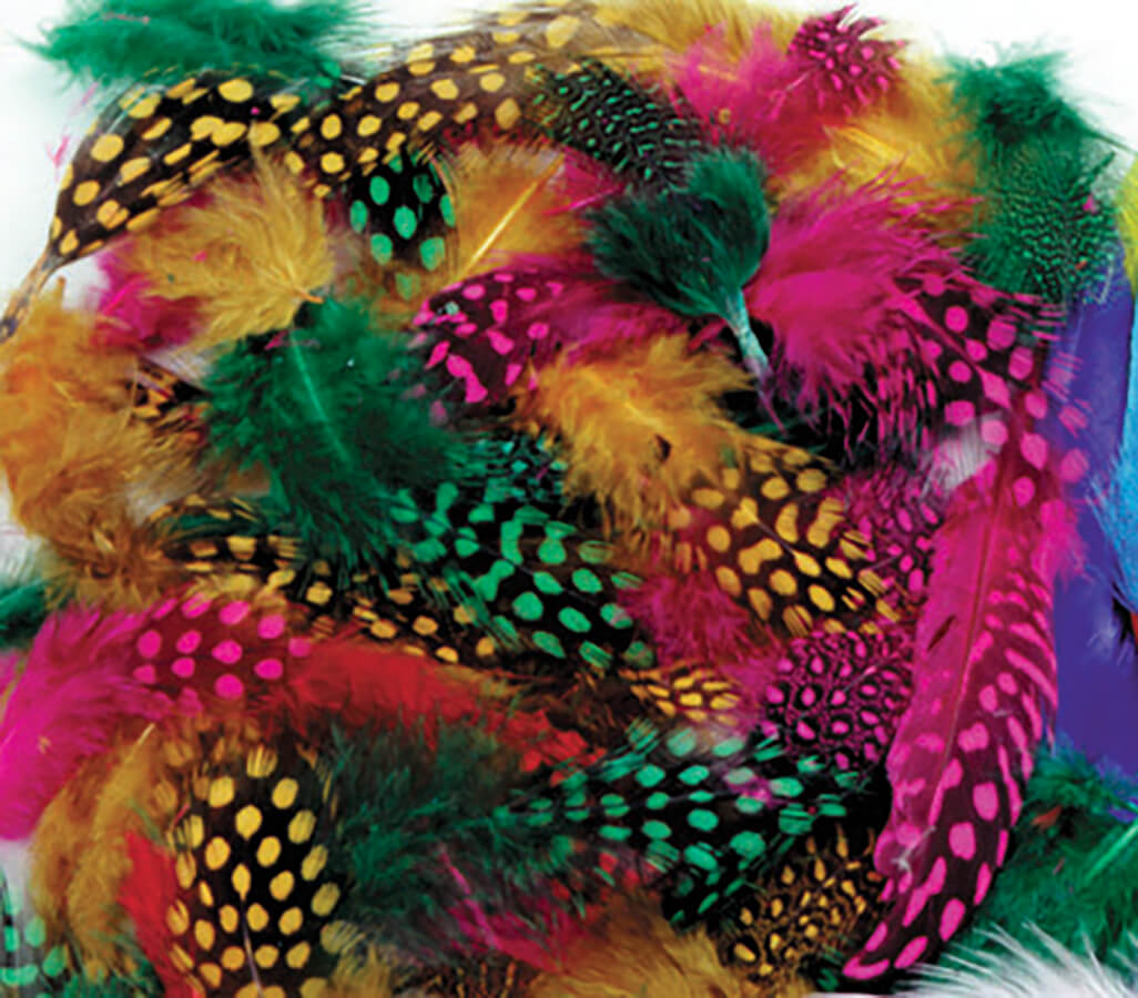 Creativity Street® Spotted Feathers