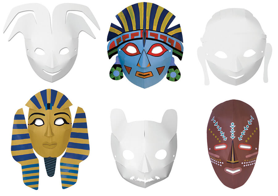 Creativity Street® Die Cut Paper Masks