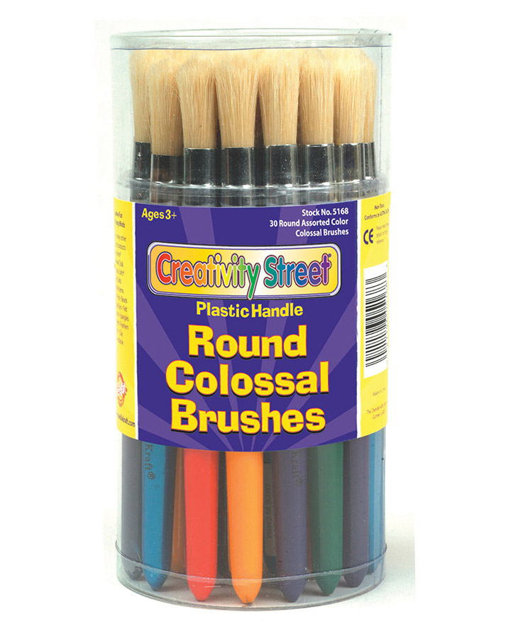 Creativity Street® Stubby Brushes