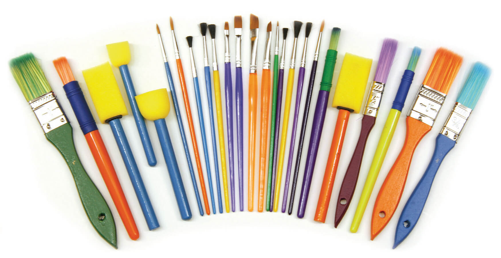 Creativity Street® Paint Brush Starter Set