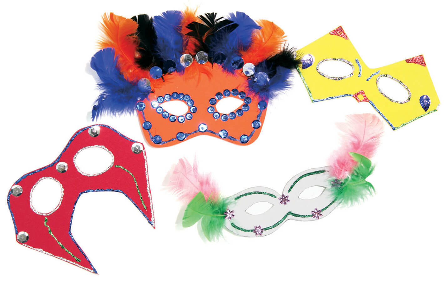 Creativity Street® Colossal Crafts Mask Kit