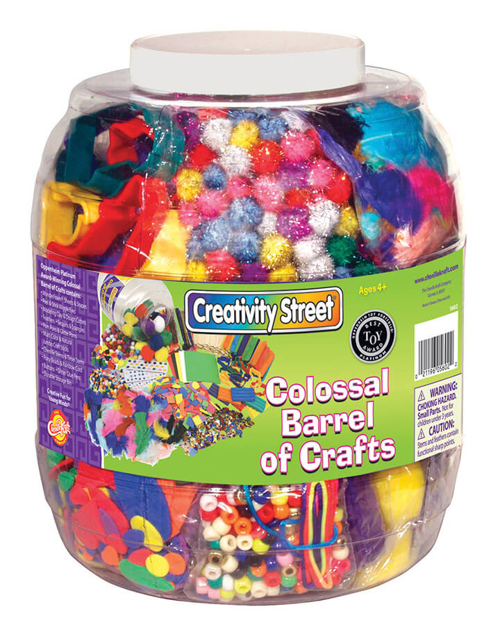 Creativity Street® Colossal Barrel of Crafts™