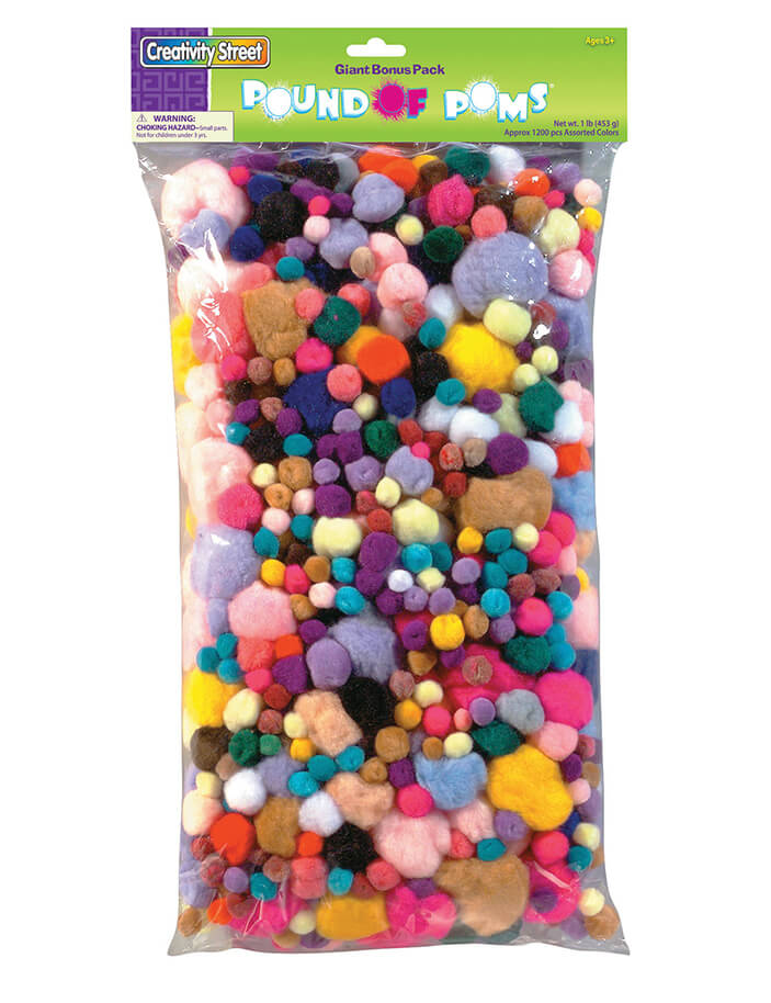 Creativity Street® Pound of Poms® Assortment