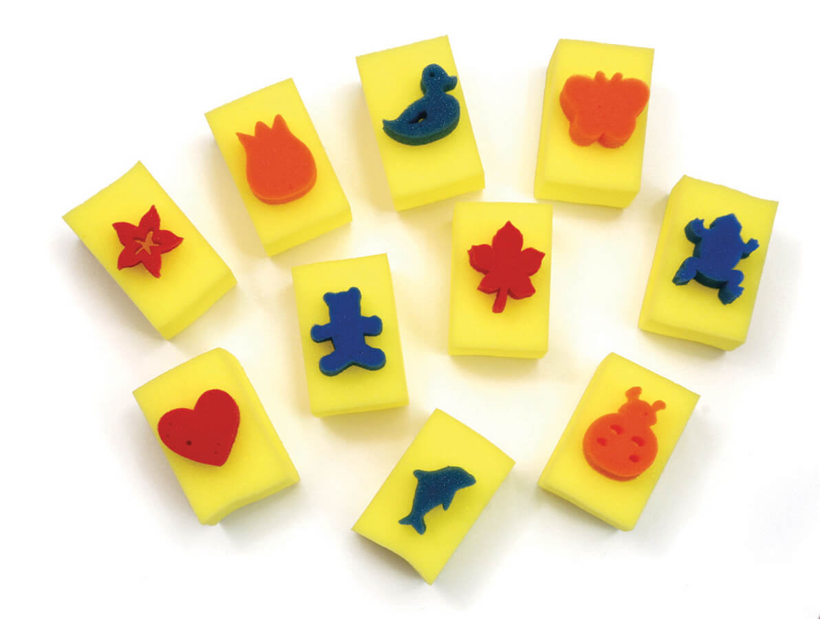 Creativity Street® Paint Handle Sponges