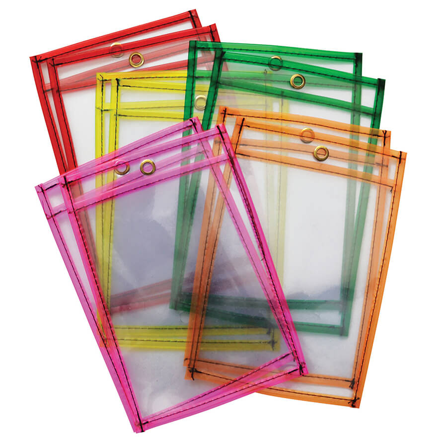 Creativity Street® Dry Erase Pockets
