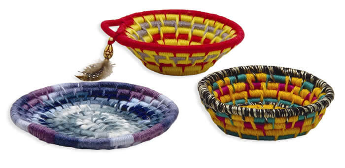 Trait-tex® Basket Making (Coiling)