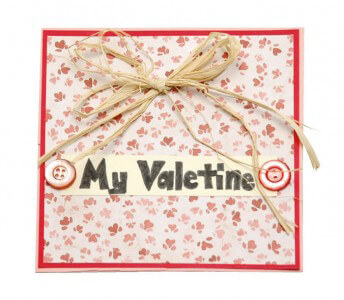 Valentine's Day Card & Envelope