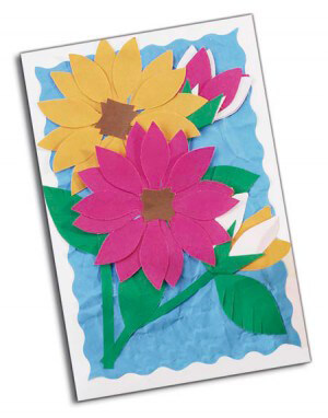 Fadeless® Flower Card