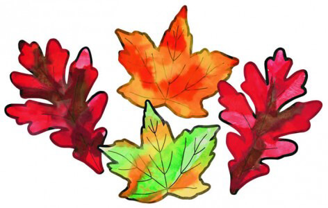 Spectra® Art Tissue™ Fall Leaves Project