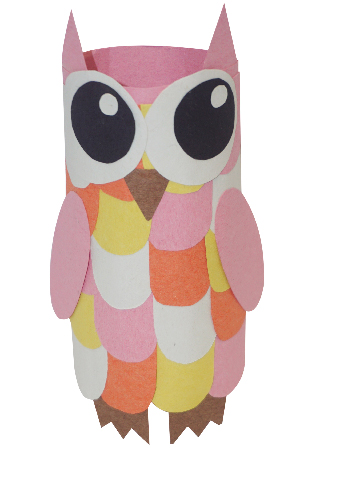 3D Construction Paper Owl