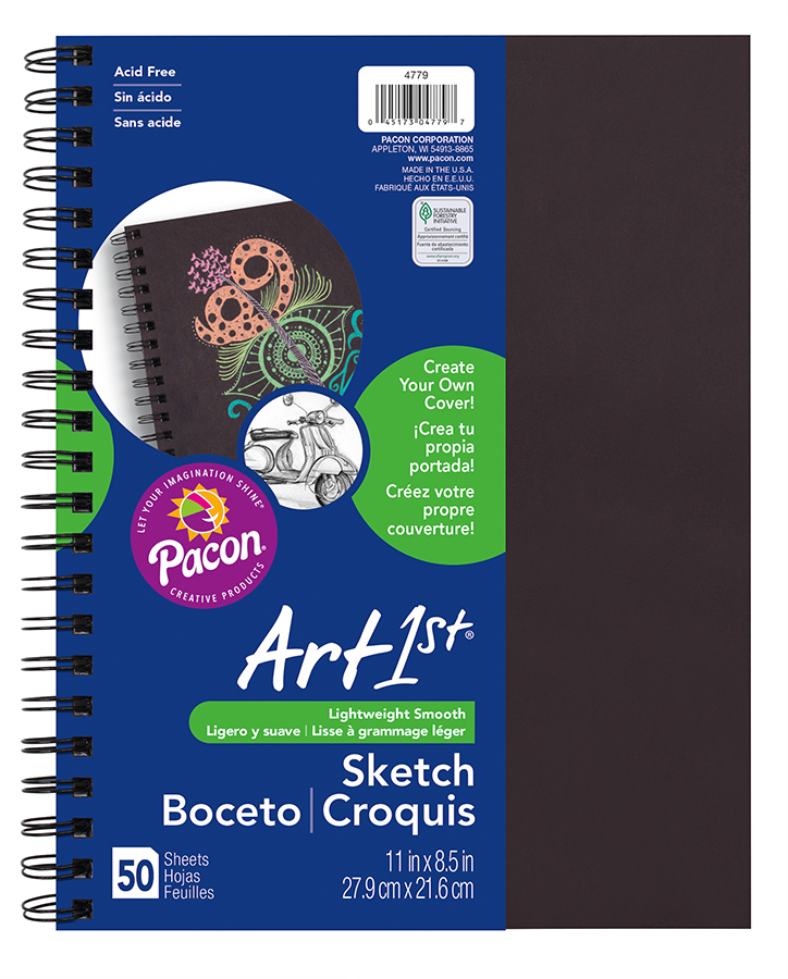 Art1st Create Your Own Cover Sketch Diary Pacon Creative