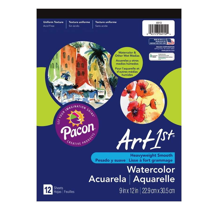 Art1st® Watercolor Pad