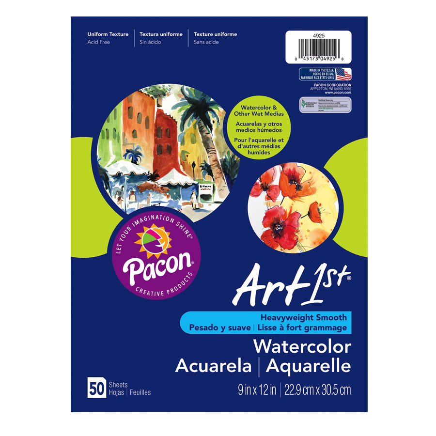 Art1st® Watercolor Paper