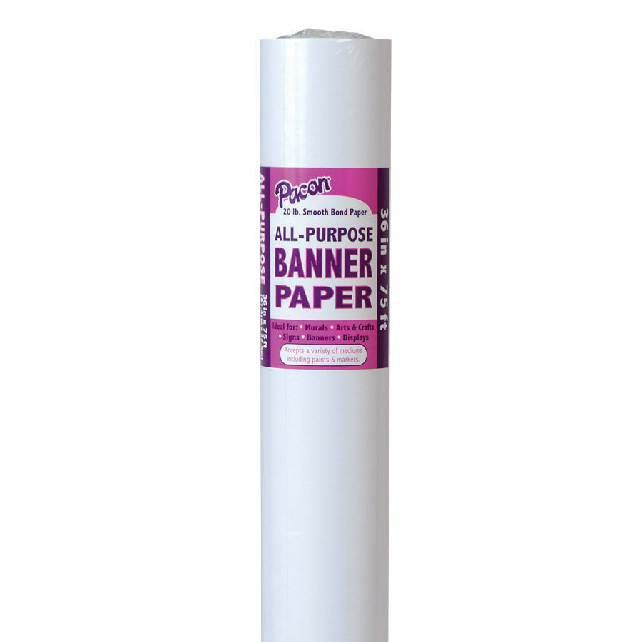Pacon® Banner Paper Roll