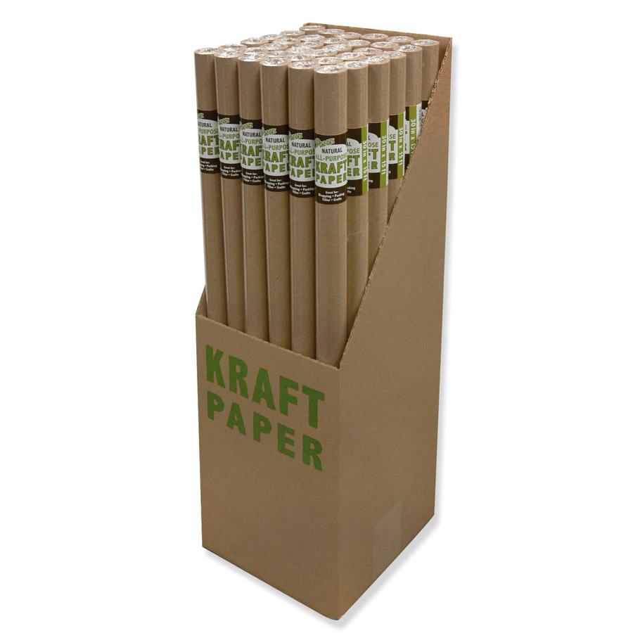 Pacon® Natural Kraft Roll Display