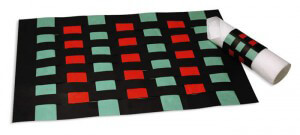 Kwanzaa Place Mat and Napkin Ring