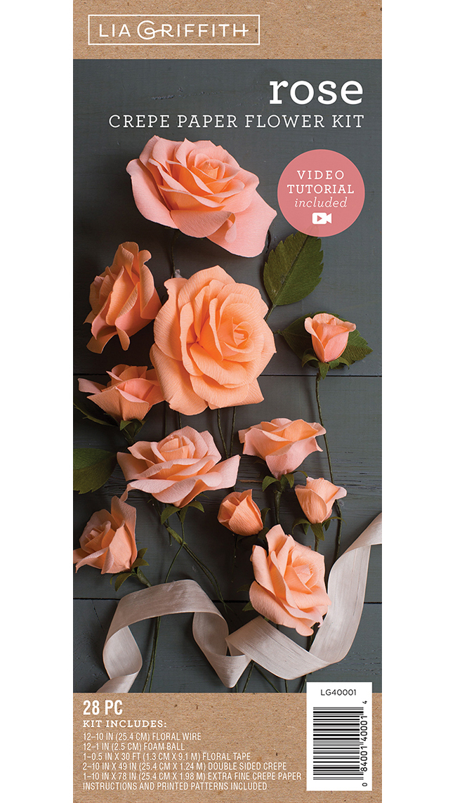 Lia Griffith Crepe Paper Flower Kit Pacon Creative Products