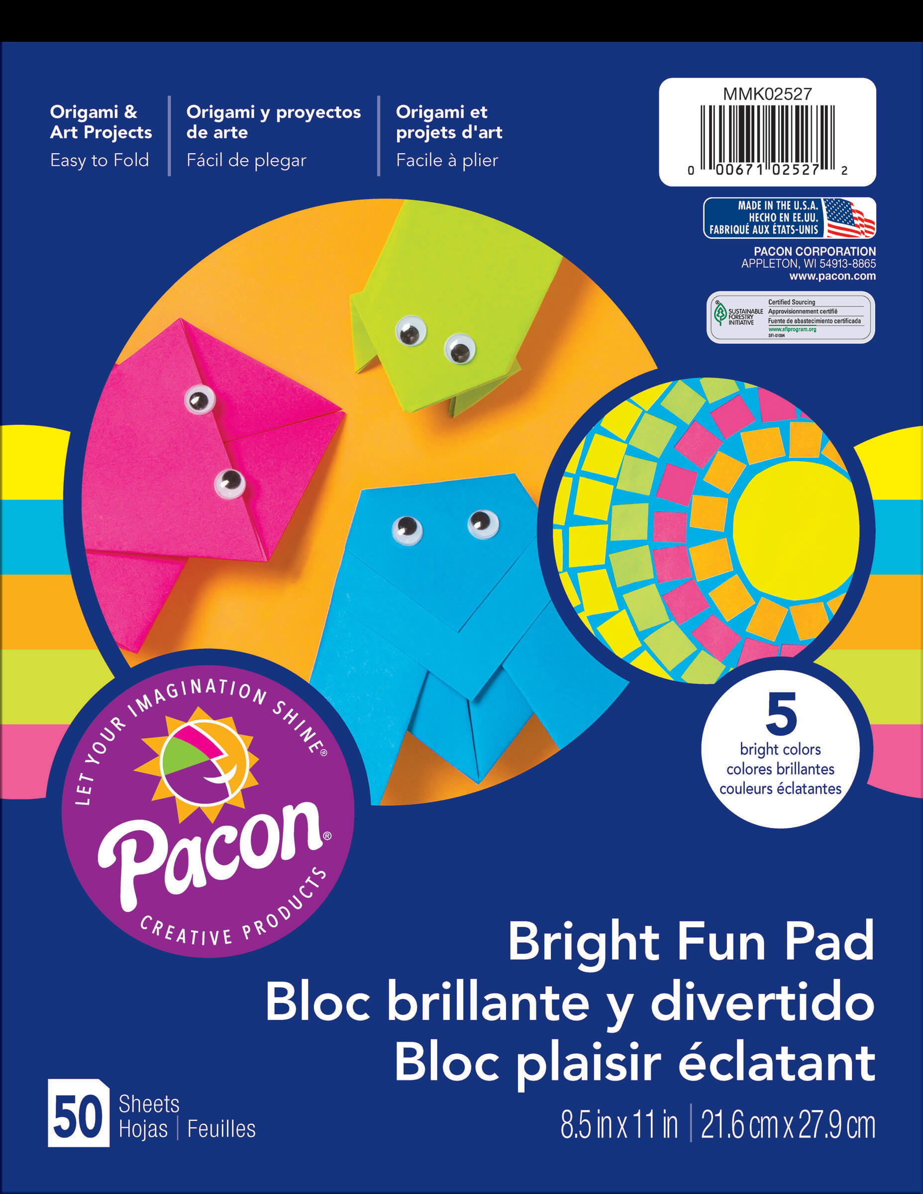Pacon® Bright Fun Pad