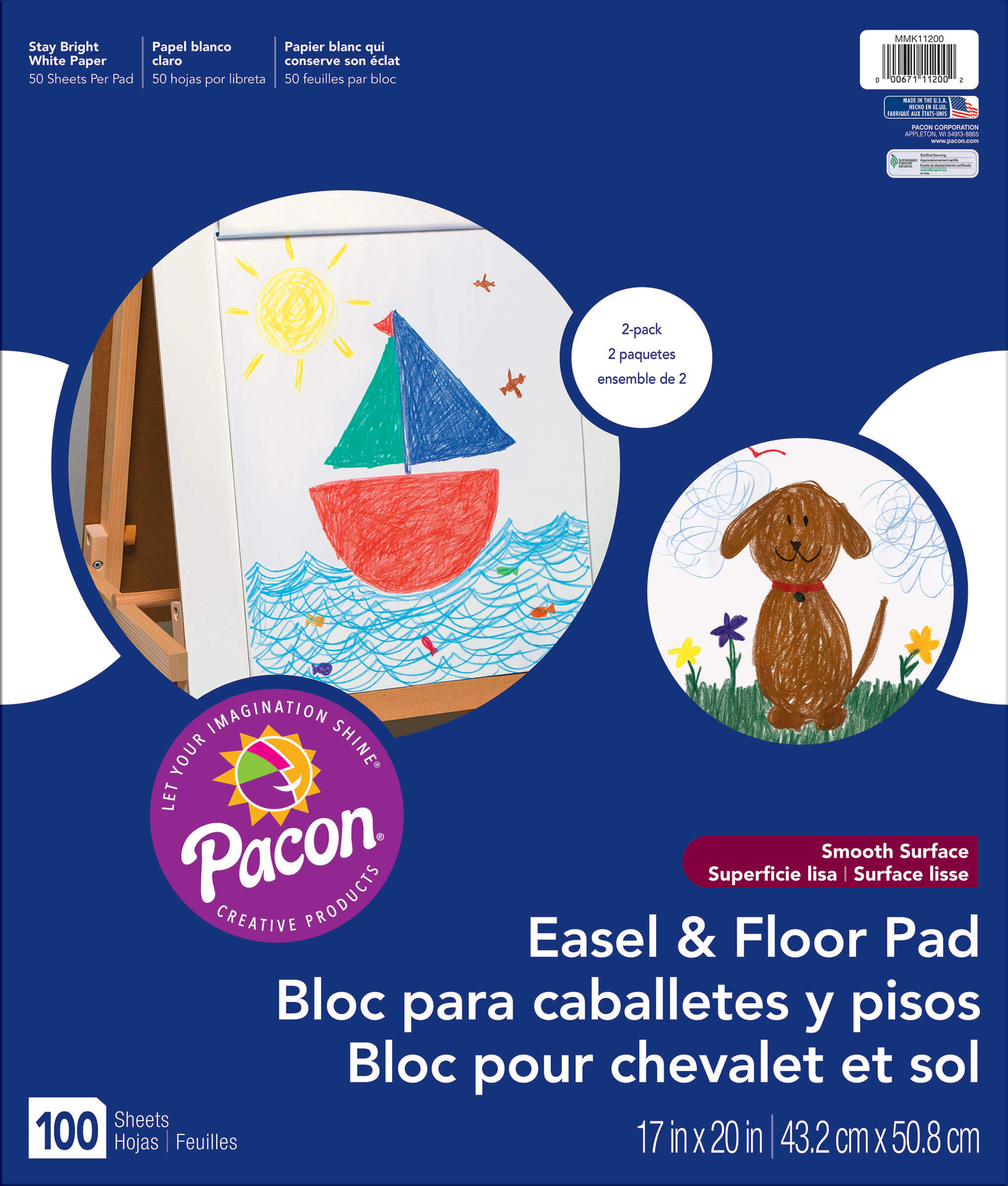 Pacon® Easel Pad Two-Pack
