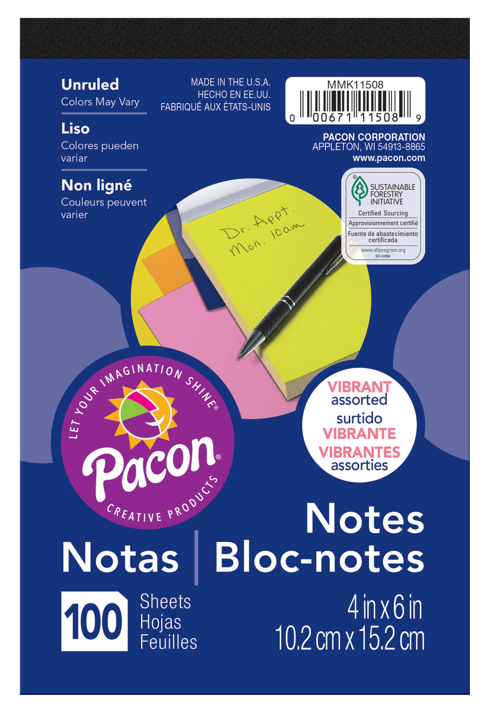 Pacon® Note Pad