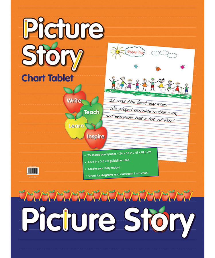 Pacon® Picture Story Chart Tablet