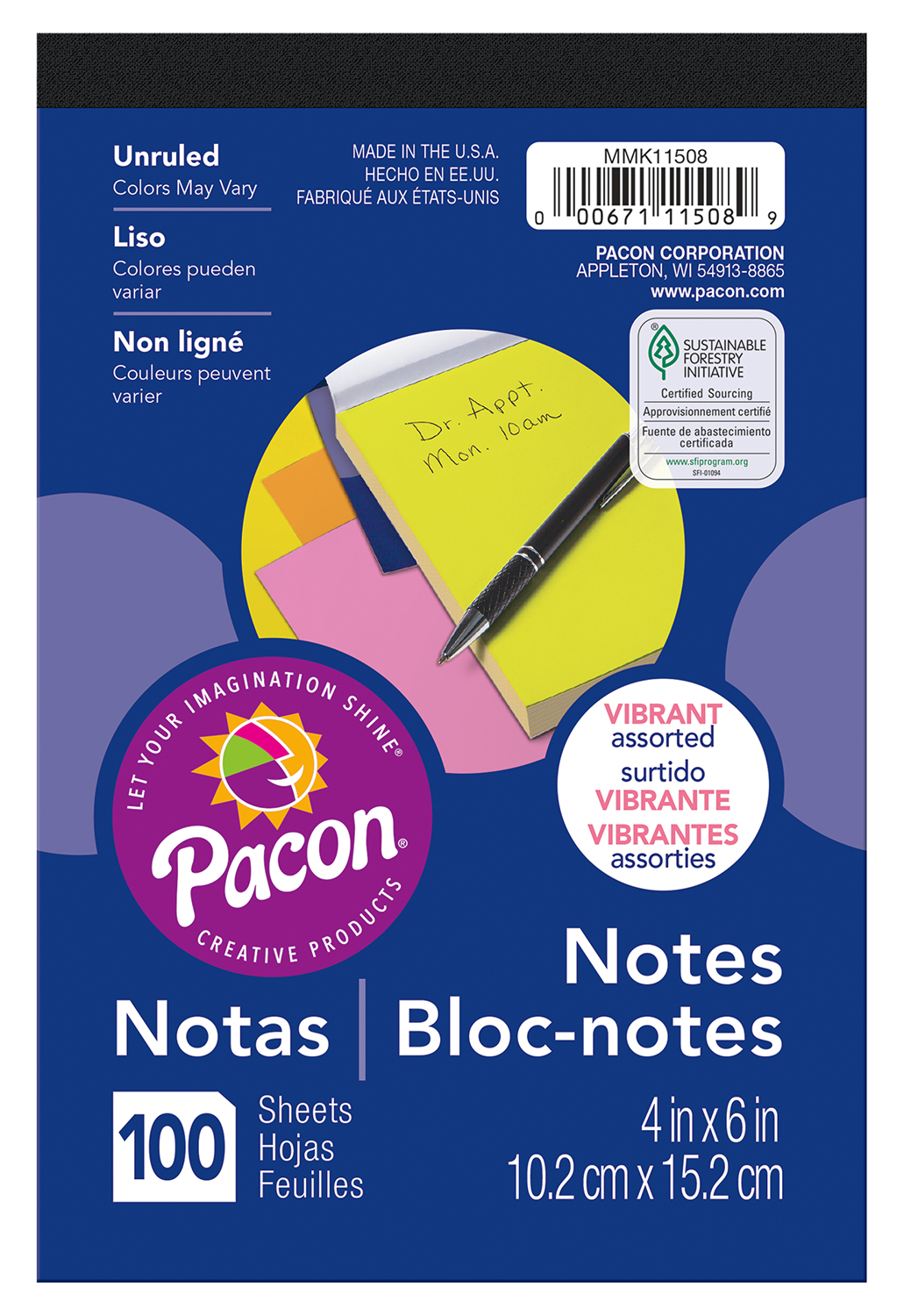 Pacon Note Pad