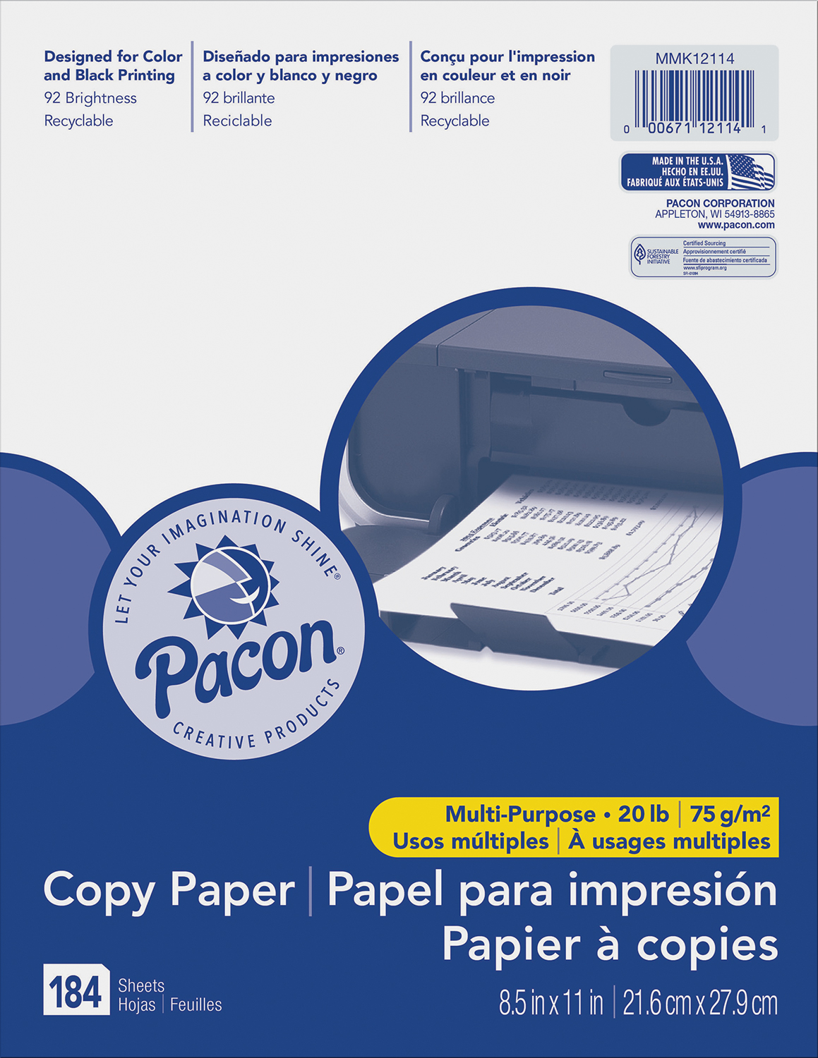 Pacon® Multi-Purpose Paper