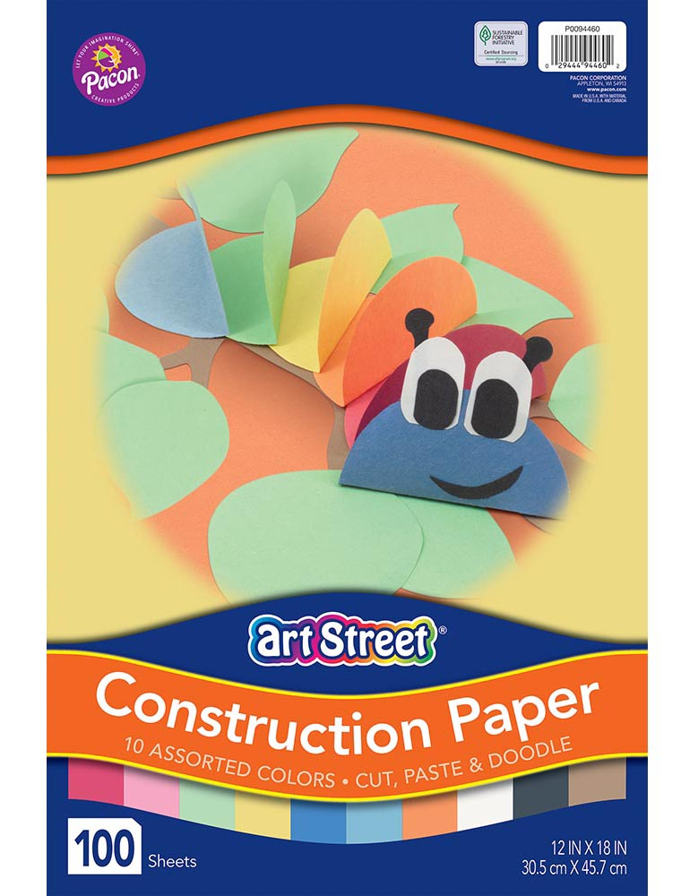 Art Street® Lightweight Construction Paper